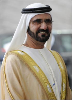 An extremely wealthy Sheikh from Dubai.