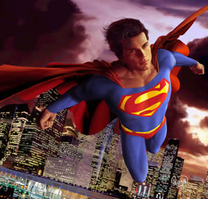 Howay Superman, we need you!