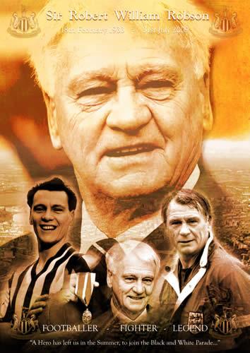 Sir Bobby Robson 1933 - 2009.