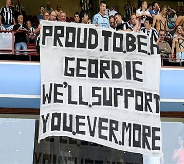 Newcastle - Arsenal Proud-to-be-a-Geordie