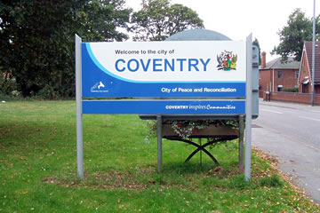 "Coventry: ""City of peace and reconciliation"""