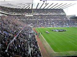 Fans @ St James' Park