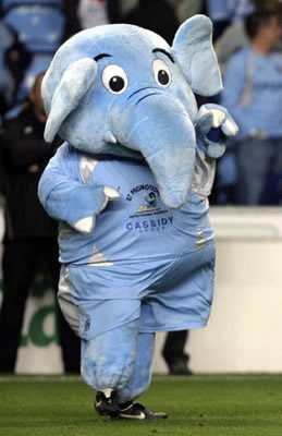 Coventry's Mascot: Micky Quinn?