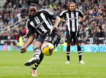 Shola: Ready to rejoin the battle of the hitmen.