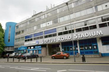 Loftus Road - Looks like a block of flats!