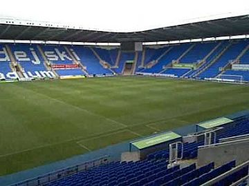 The Madejski: Setting for Tuesday evening.