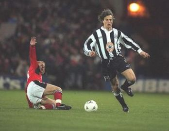 Ginola: A fantastic player in his time with us.