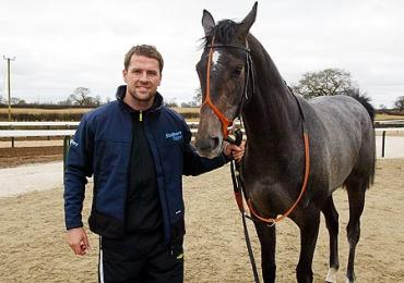Michael Owen - With his first love.