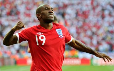 Jermaine Defoe - Goal hero for England.