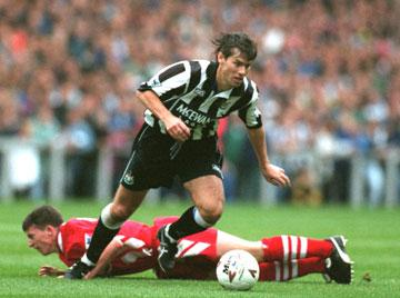 Rob Lee in his playing days.