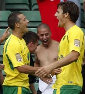 Two-goal Norwich hero - Chris Martin.