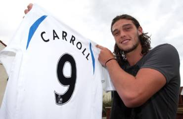 Andy Carroll - The new number nine.