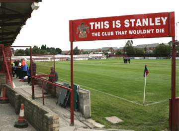 The Crown Ground - A real football ground.