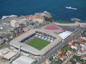 Deportivo's Riazor Stadium.