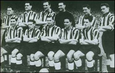 George Robledo - Bottom row, second from the right.