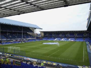 Goodison Park - Home of Everton FC.