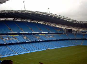 Eastlands - The home of Manchester City.
