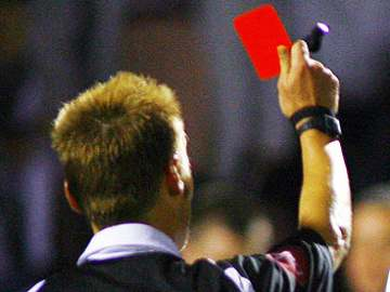 Give shoddy refs the red card!