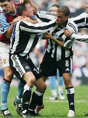 Dyer: Naughty boy on Tyneside.
