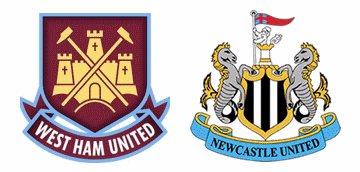 West Ham v Newcastle United.