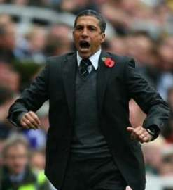 Hughton can hold his head up high.