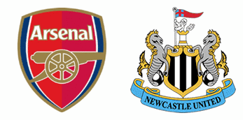 Arsenal v Newcastle United.