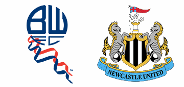 Bolton Wanderers v Newcastle United.