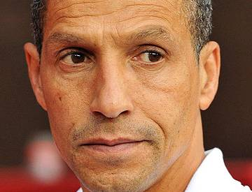 Hughton: Still searching for his perfect partner.