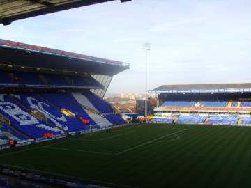 St Andrews - Home of Birmingham City.