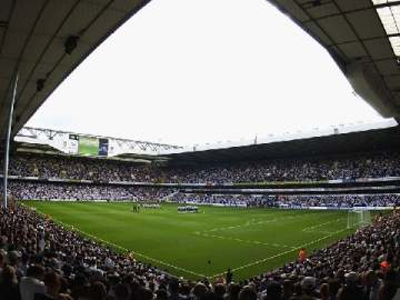 White Hart Lane - Home of Tottenham Hotspur FC.