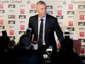 Alan Pardew - The new man in charge.