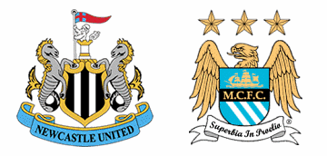 Newcastle take on Manchester City.