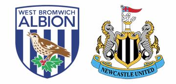 WBA v Newcastle United.