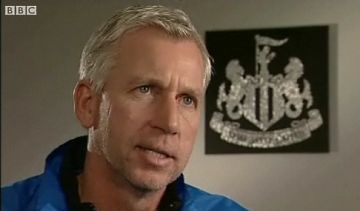 Pardew: Not a big fan of middlemen it seems.