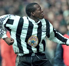 Faustino Asprilla, Newcastle United