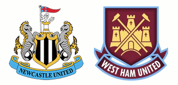 Newcastle United v West Ham United.