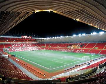 "Sunderland's ""Stadium of Blight""."