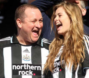 What are Mike Ashley's intentions for Newcastle United?