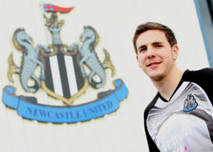 Dan Gosling, Newcastle United