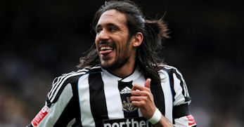 Jonas Gutierrez says he's happy at Newcastle United