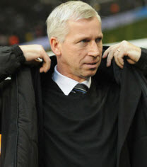 Alan Pardew talks about the behind the scenes operation of Newcastle United