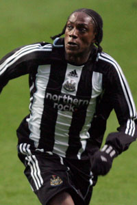 Nile Ranger of Newcastle United
