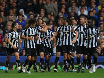 Ben Arfa after his wonder goal against the Toffees