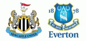Newcastle United v Everton.