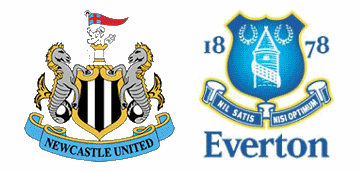 Newcastle United v Everton.