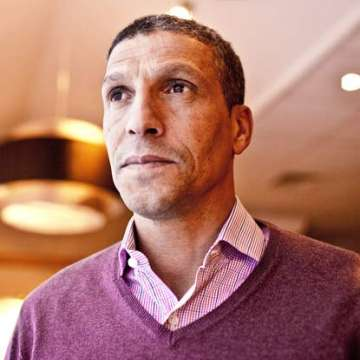 "Hughton: ""I'm very much a manager""."