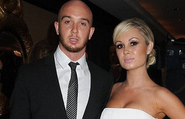 Stephen Ireland and girlfriend