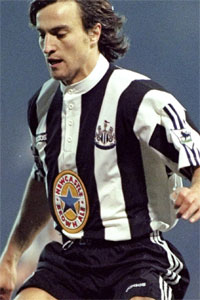 David Ginola, Newcastle United Entertainers Mk I