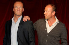 Alan Shearer waxwork