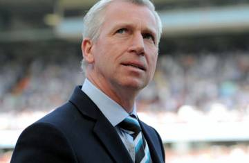 Pardew: Out with the old, in with the new.